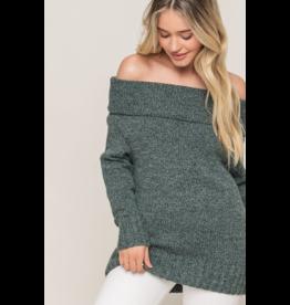 Loretta Off The Shoulder Sweater