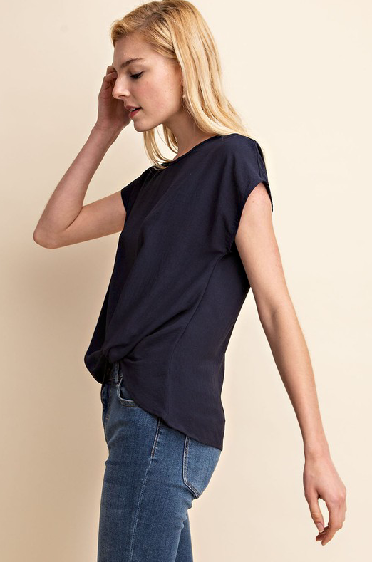 Diana Knot Front Top