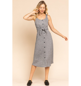 Darlene Button Front Dress