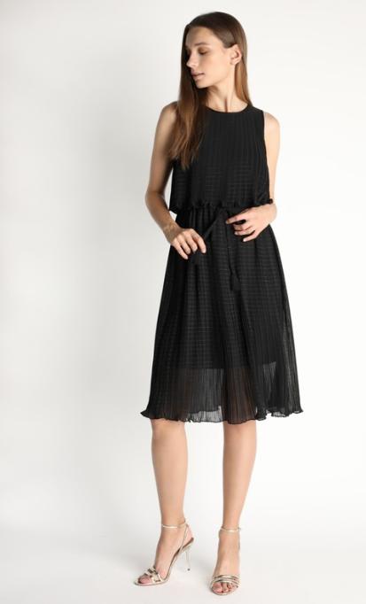 Brair Chiffon Pleated Dress