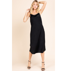 Cara Satin Slip Dress