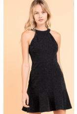 Caroline A Line Sparkle Dress