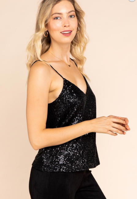 Caira Sequin Top