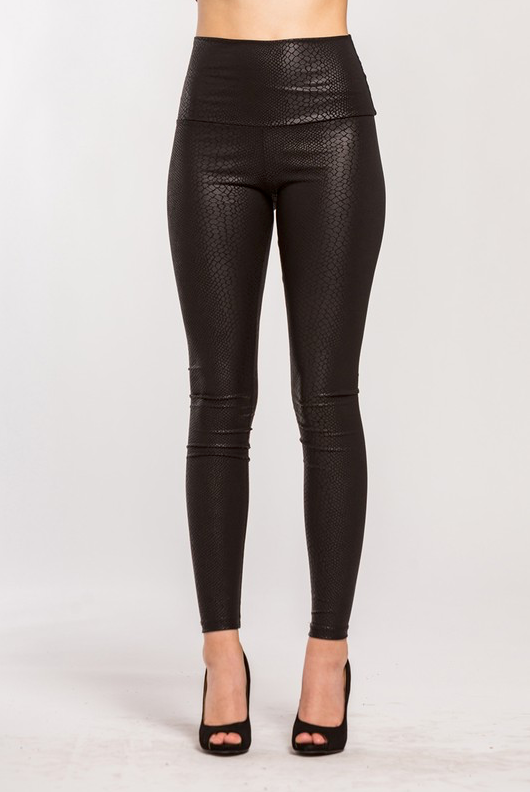 Snake High Waisted Leggings