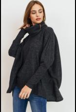 Cowl Neck Cozy Sweater