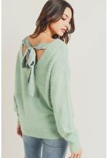 Tie Back Cozy Sweater