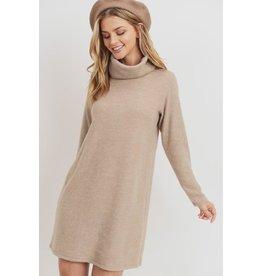 Fleece Turtle Dress
