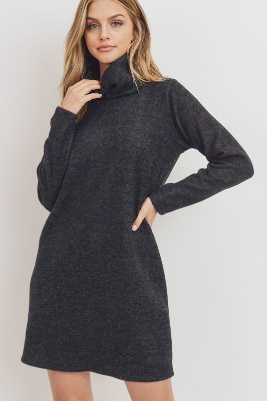 Fleece Turtle Dress