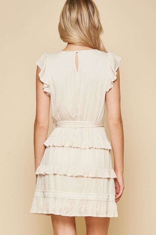 Tiered Flutter Dress