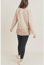 Tie Back Cozy Sweater