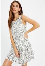 Dalmatian Print Dress