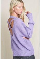 Pastel Asymmetrical Sweater