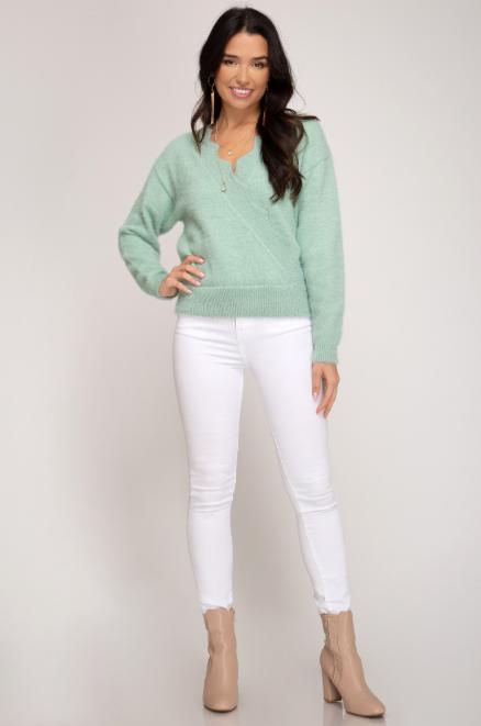 Vera Scalloped Sweater