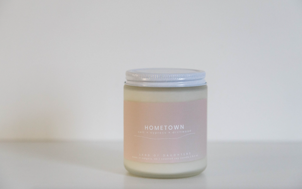 Home Town Candle 8oz.
