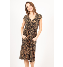 Aurora Leopard Dress