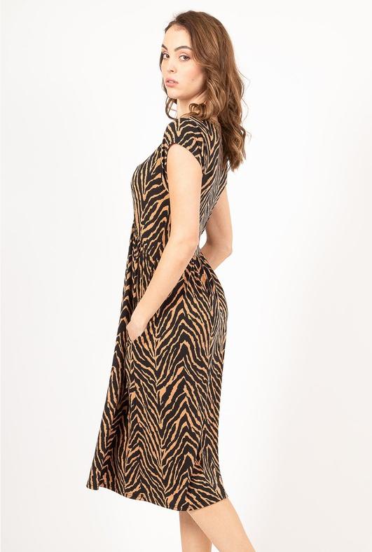 Aurora Leopard Dress