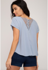 Val Lace Back Top