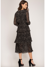 Lilian Ruffled Dress