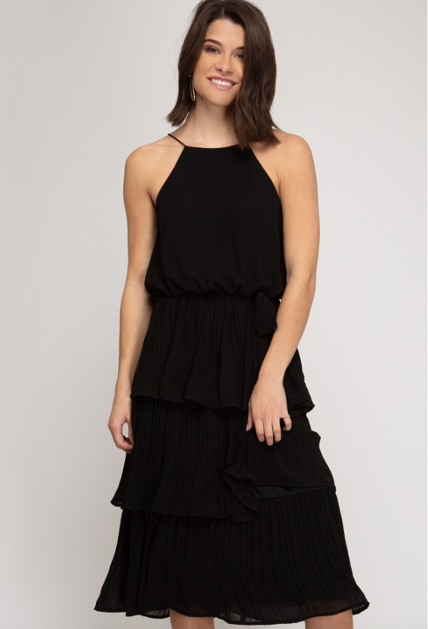 Lily Tiered Ruffle Dress