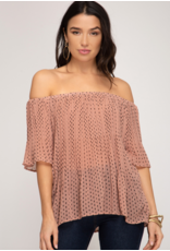 Skylar Off The Shoulder Top
