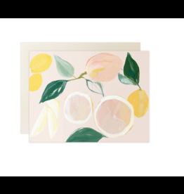 Cards Citrus Blank Card
