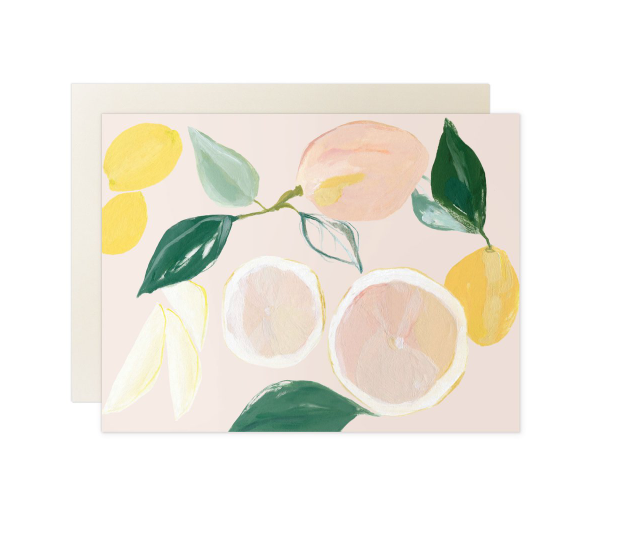Cards Citrus Blank Card