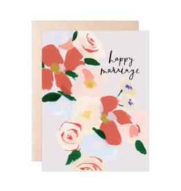 Cards Happy Marriage Bouquet