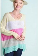 Lia Stripe Sweater