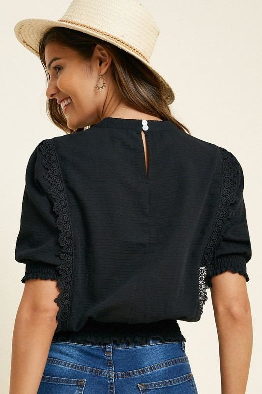 Lisa Embroidered Top