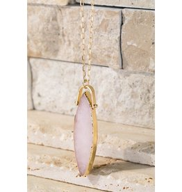 Marquise Stone Necklace