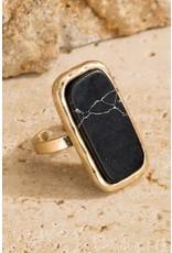 Natural Stone Ring