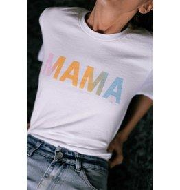 Mama Rainbow Tee