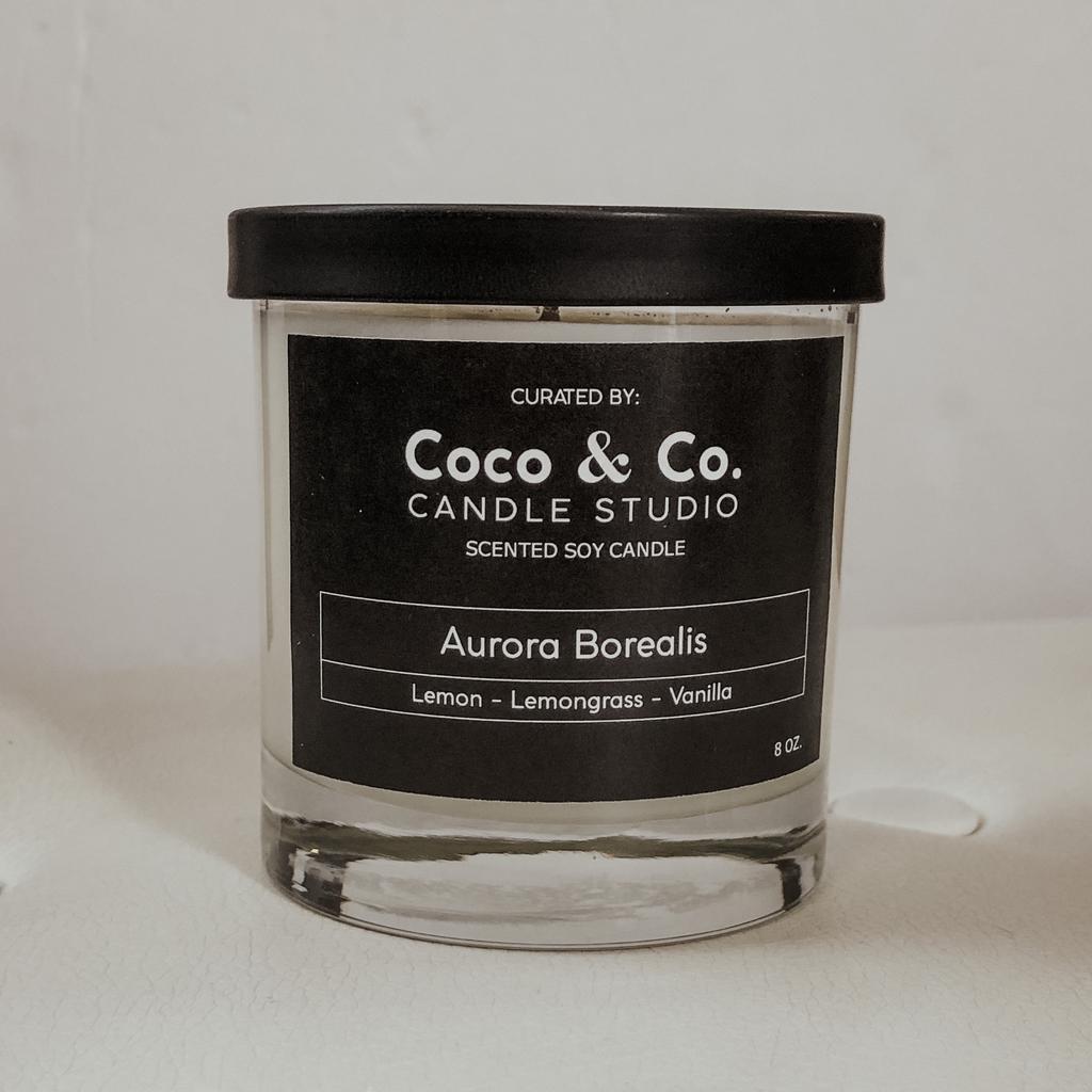 Aurora Borealis Candle 8oz.