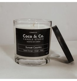 Sunset Country Candle 8oz.