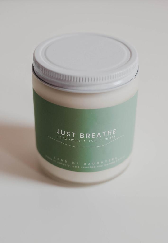 Just Breathe Candle 8oz.