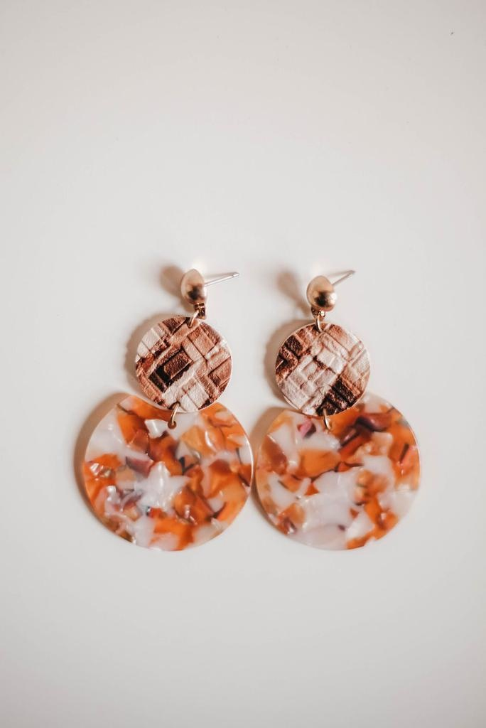 Tiered Tile Earring