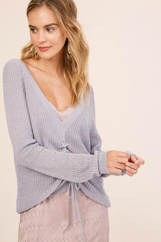 Marietta Ruched Sweater