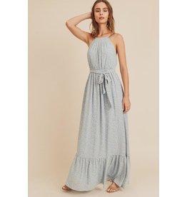 Danica Halter Neck Maxi Dress