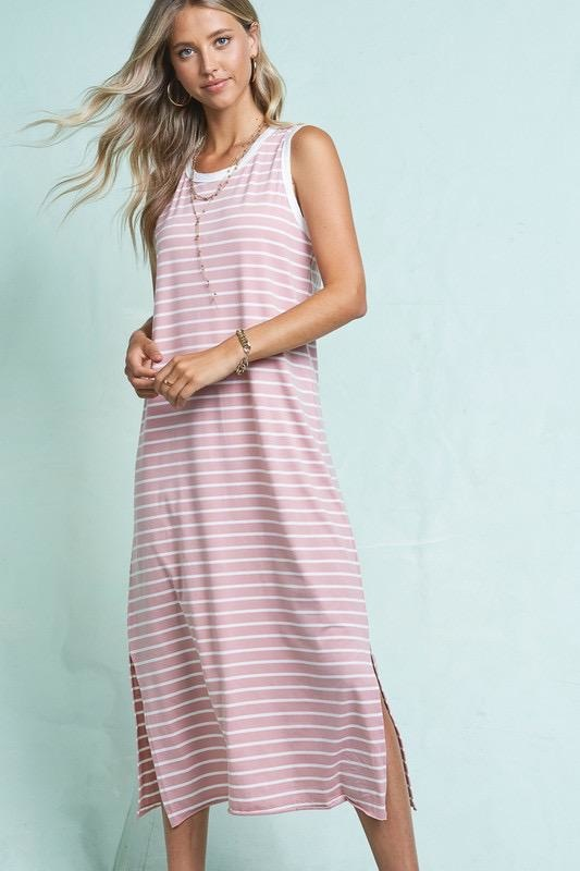 Samantha Striped Maxi Dress