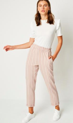 Madeline Pinstripe Pant