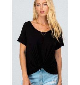 Cassie Twist Front T-Shirt