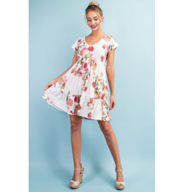 Viola Tiered Mini Dress