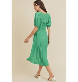 Mia 3/4 Sleeve Wrap Dress