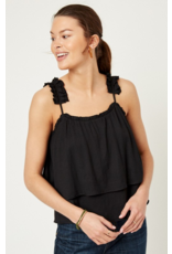 Scarlette Tiered Pleated Tank