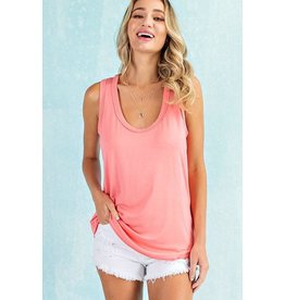 Annie Scoop Neck Tank