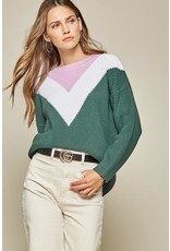 Regina Chevron Sweater