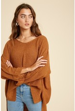 Arista Wide Neck Sweater