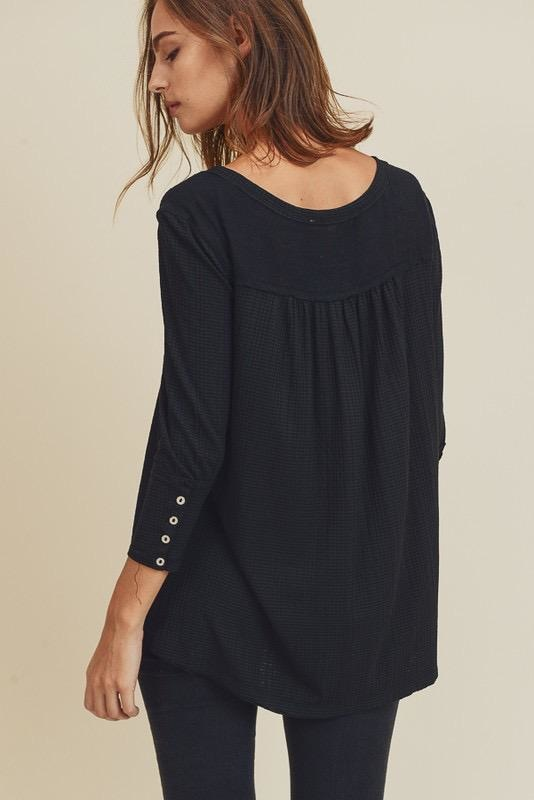 Aster Button Top
