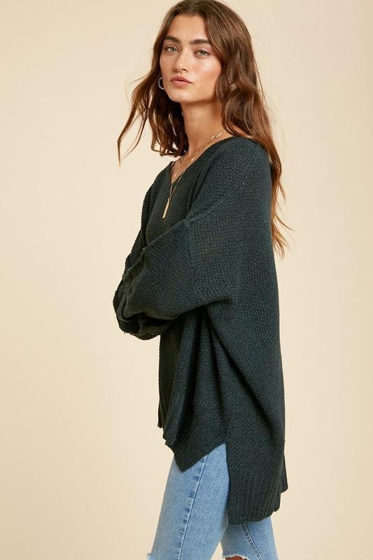 Arista Wide Neck Sweater
