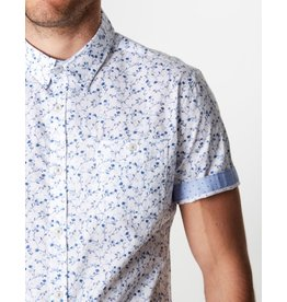 7 Diamonds Mind Gardens Slim Fit Short Sleeve Shirt